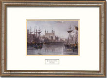 Load image into Gallery viewer, Tower Of London Framed Engraving