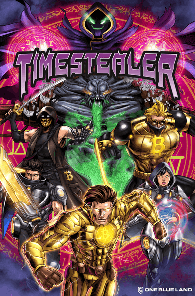 Timestealer Comic Book: Issue #8