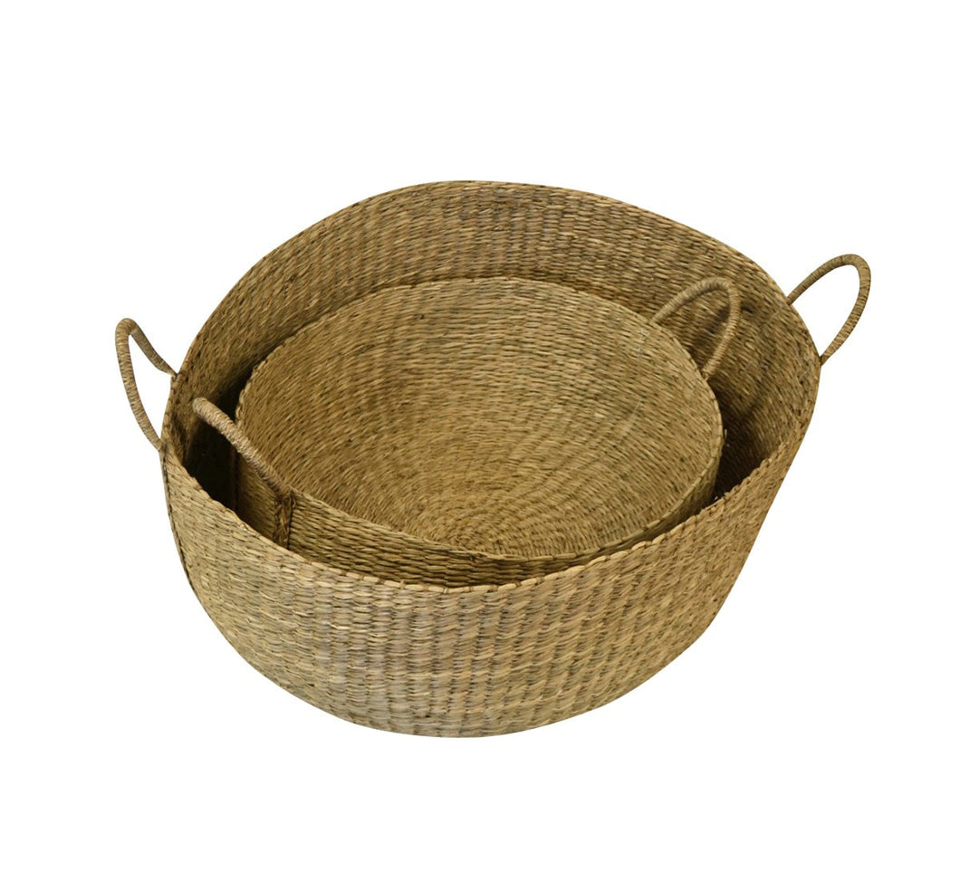 Sweet grass basket  set two