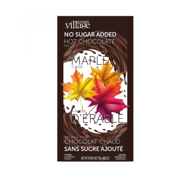 No sugar chocolate maple hot chocolate