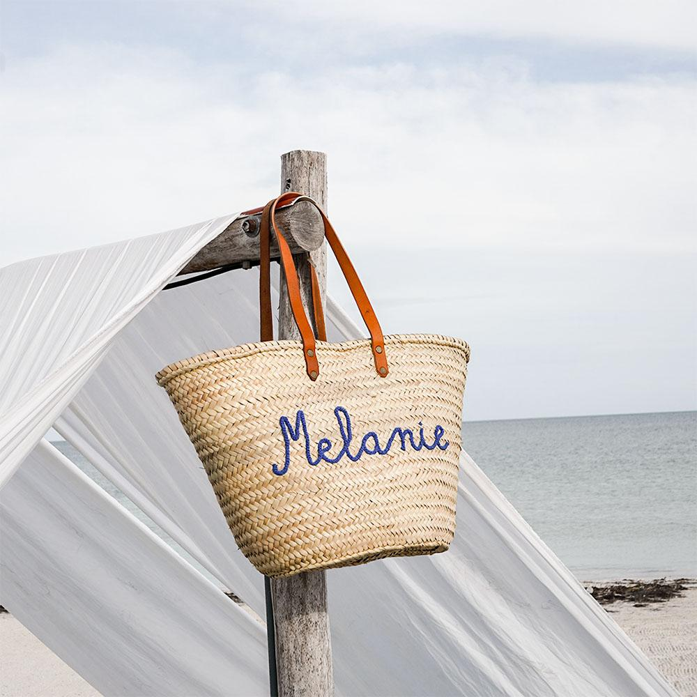 Personalized Large Beach Basket