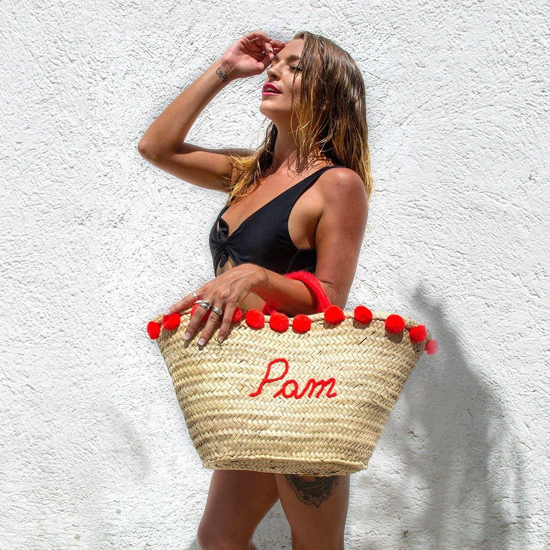 Amaryllis Pom Pom Bag - marrakechshopdesign