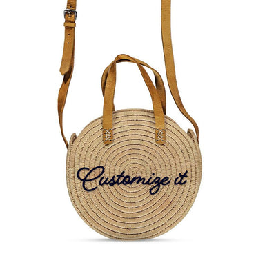 Customized raffia bag - marrakechshopdesign