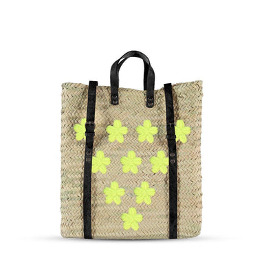 Daisy flowers backpack - marrakechshopdesign