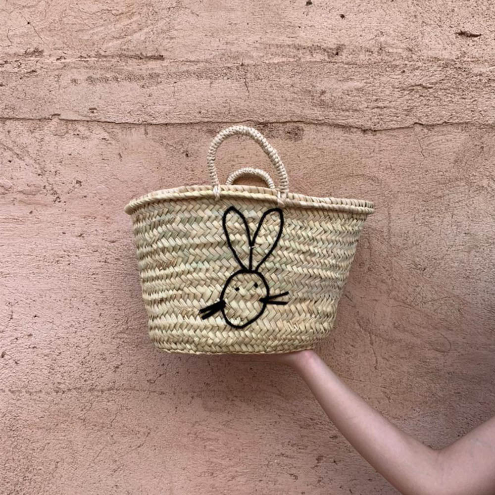 Easter Straw bag