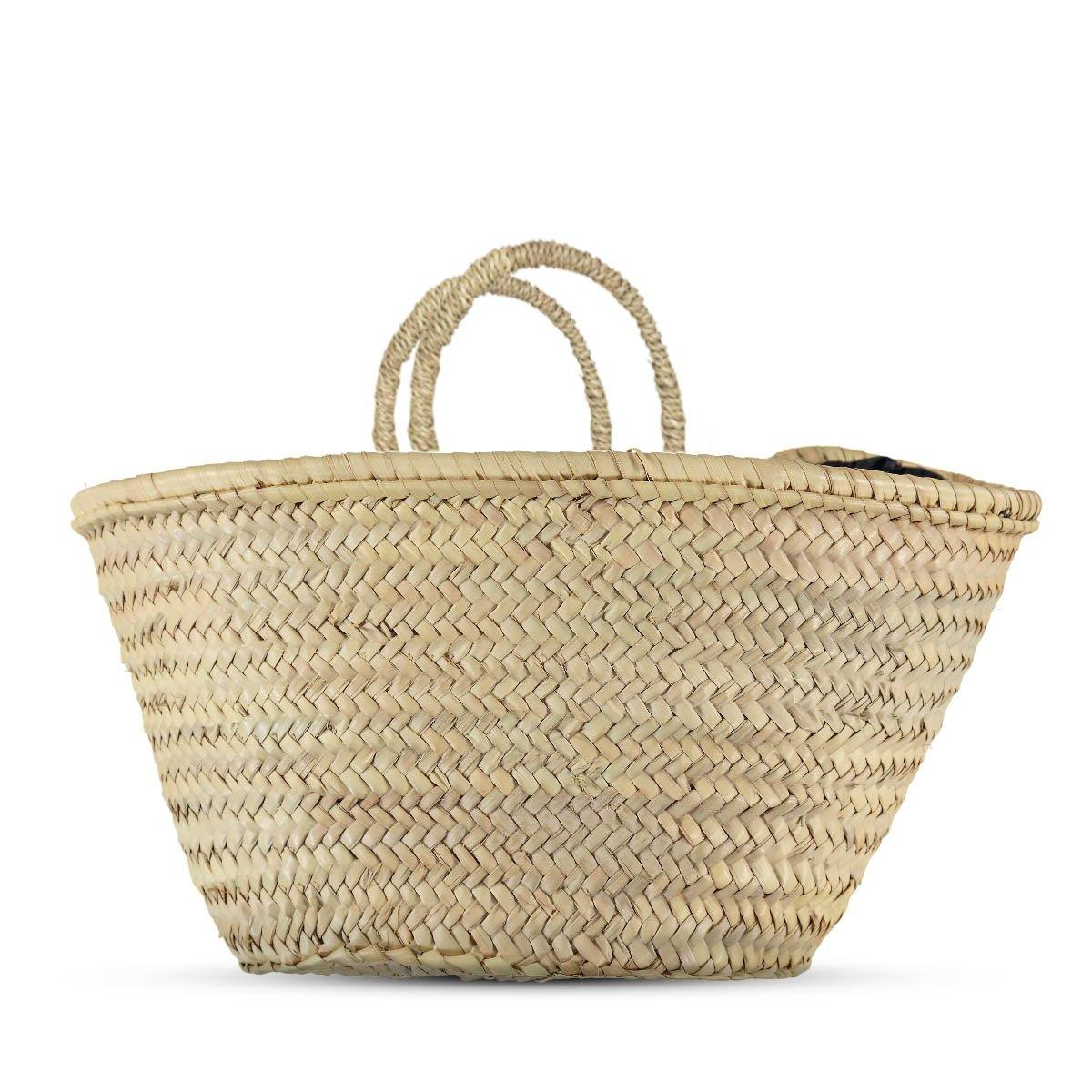 French market bag - Plain - marrakechshopdesign