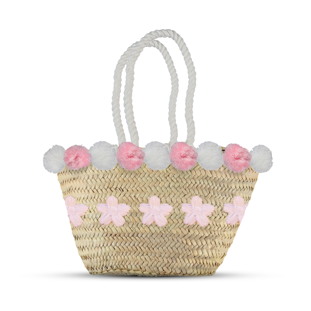 Fluffy daisy bag - marrakechshopdesign