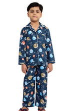 Load image into Gallery viewer, Planet Theme Boys Nightsuit
