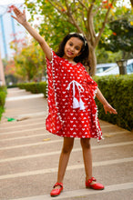 Load image into Gallery viewer, Ninos Dreams Red Heart Kids Kaftan