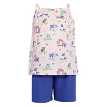Load image into Gallery viewer, Pink Owl Print Girls Clothing Set