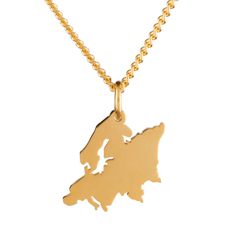 Europe necklace
