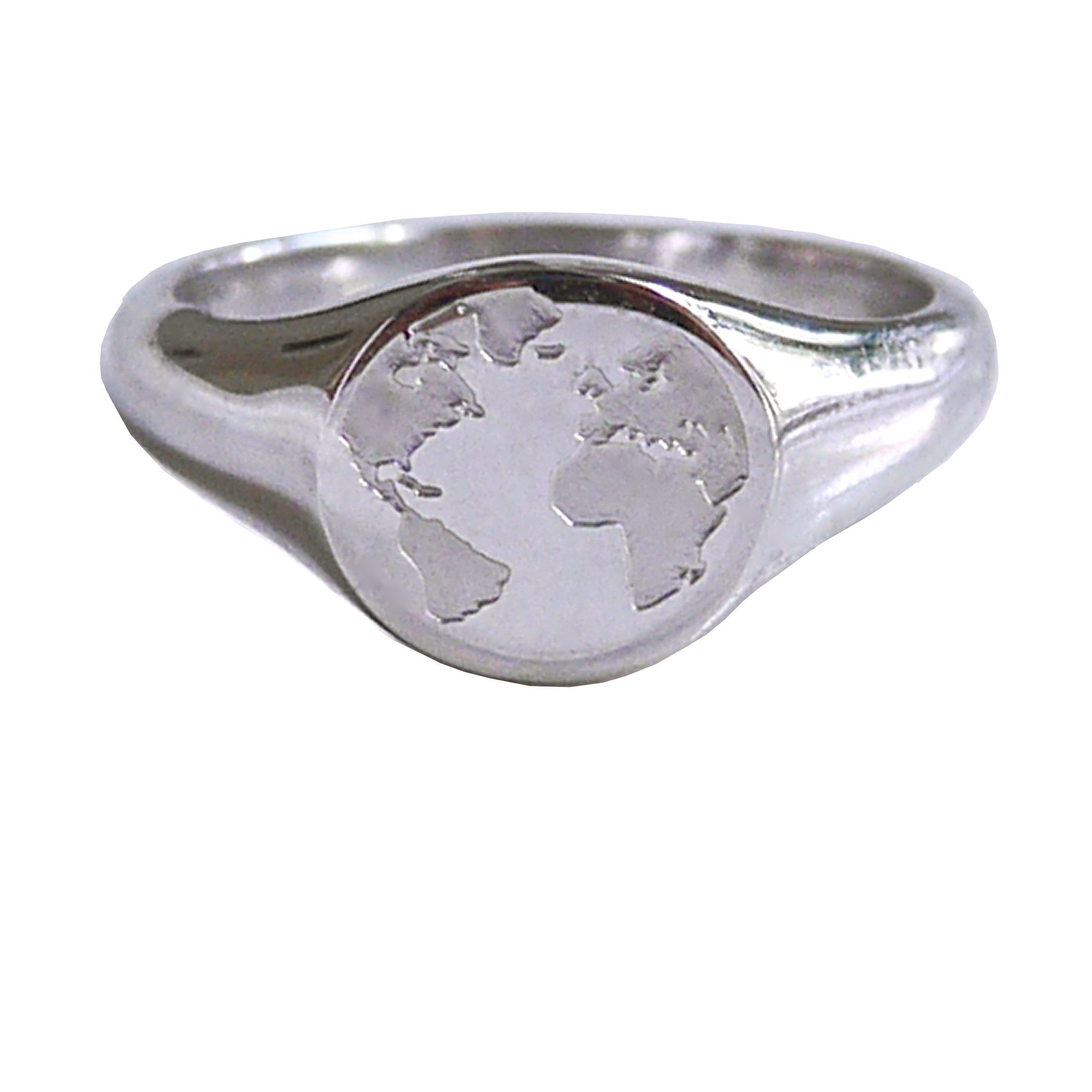 By.Ortiz,THE-WORLD-RING, World-Signet-Ring, Sterling-Silver