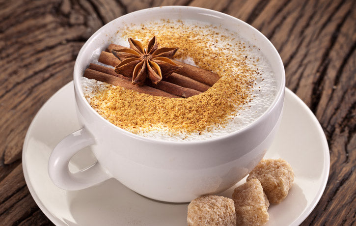 Spiced Herbstmilch Coffee