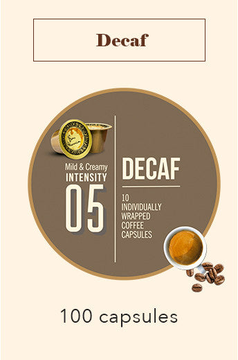 100 Bonhomia Decaffeinated Coffee Capsules | Intensity 5