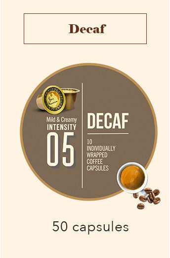 50 Bonhomia Decaffeinated Coffee Capsules | Intensity 5