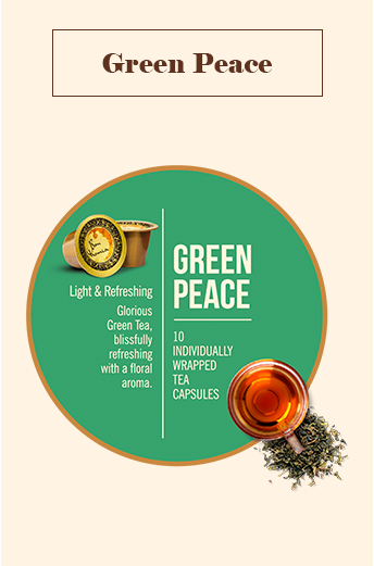 Bonhomia Green Tea Capsules | 100% Indian Green Tea (Pack of 10)