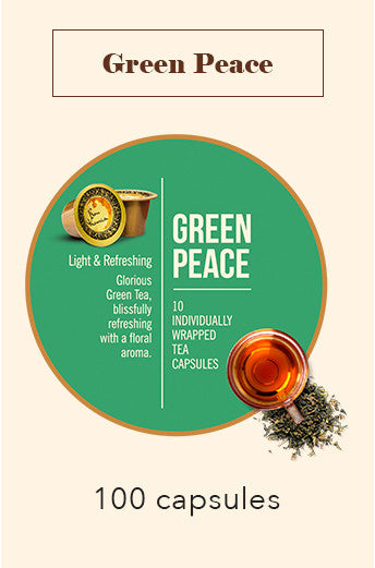 100 Bonhomia Green Tea Capsules | 100% Indian Green Tea