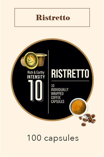 100 BONHOMIA RISTRETTO COFFEE CAPSULES | INTENSITY 10