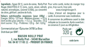 Fig with Noilly Prat Rouge