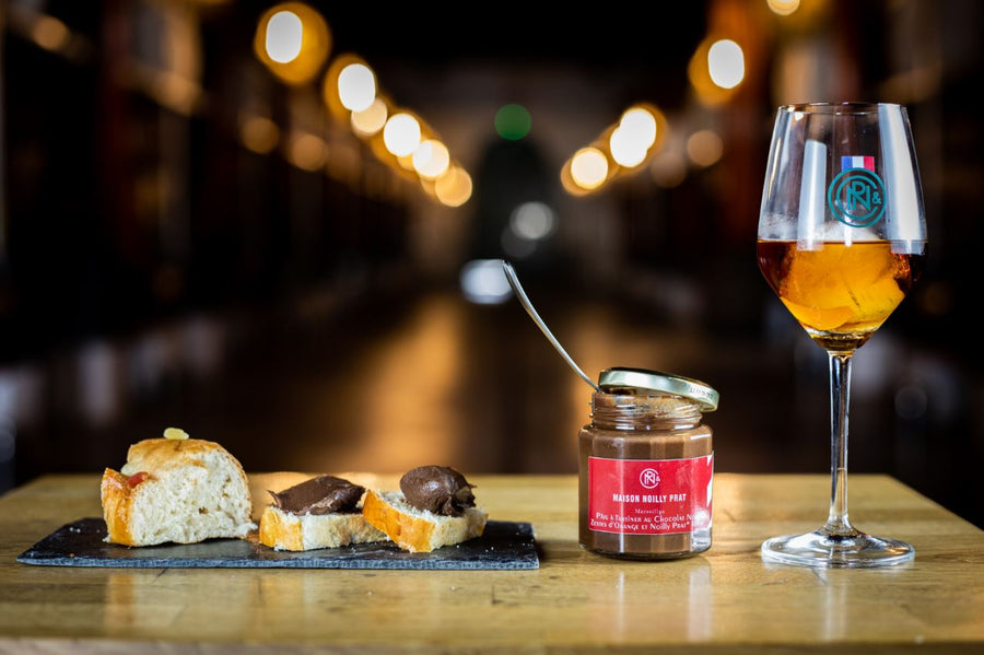 Dark Chocolate and Noilly Prat Rouge Spread