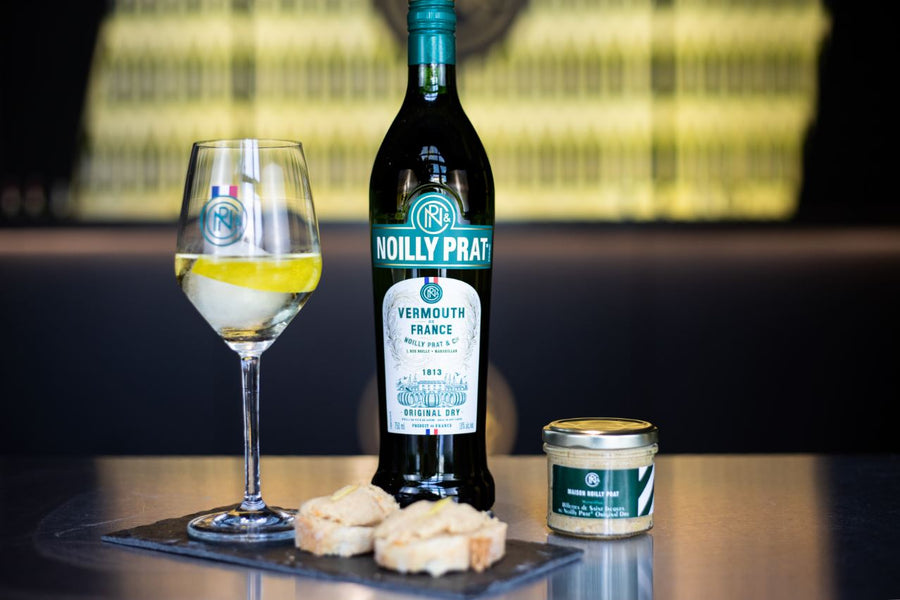 Scallop Rillettes with Noilly Prat Original Dry