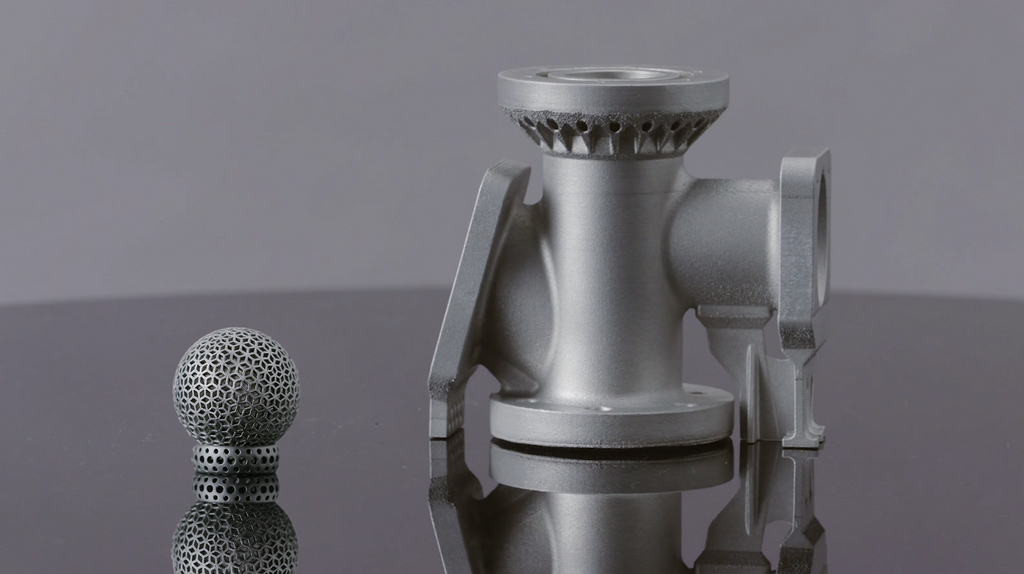3d metal printers - parts of different sizes