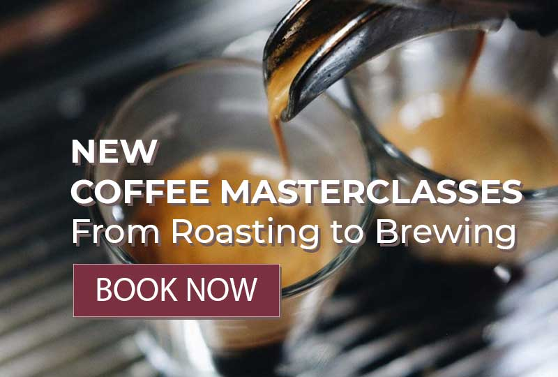 New coffee masterclasses - from roasting to brewing