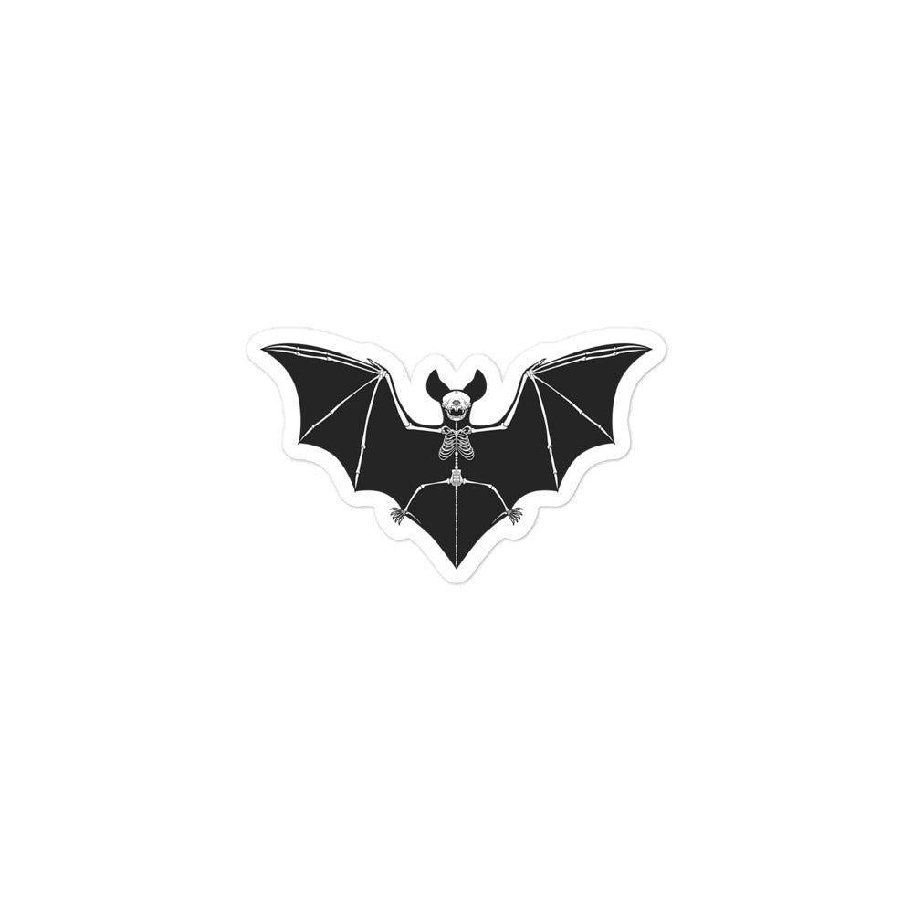 Bat Skeleton Stickers