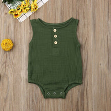 Load image into Gallery viewer, Isaiah Sleeveless Onesie