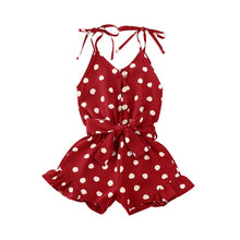 Load image into Gallery viewer, Chloe Polka Dot Summer Jumpsuit