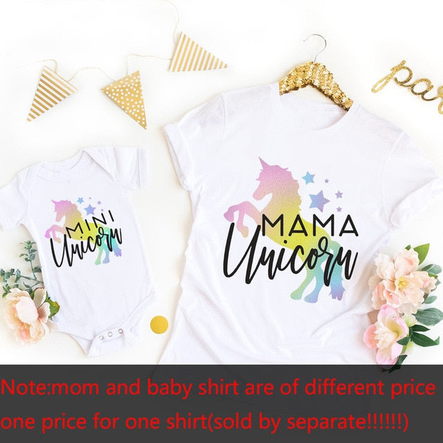 Mariana Mama Unicorn Mini Unicorn TShirts