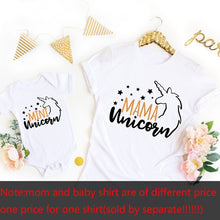 Load image into Gallery viewer, Mariana Mama Unicorn Mini Unicorn TShirts