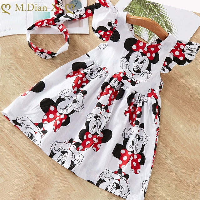 Minnie Mouse Dress with Bow