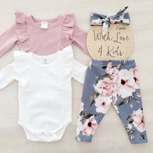 Load image into Gallery viewer, Blake 3PCS Sunsuit Outfit