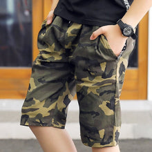 Load image into Gallery viewer, Caleb Camouflage Shorts