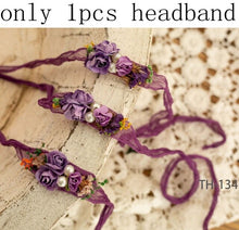 Load image into Gallery viewer, Reagan Pearl-Flower Headband