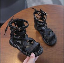 Load image into Gallery viewer, Cora Roman Sandals