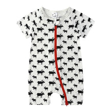 Load image into Gallery viewer, Saylor Short-Sleeve Baby Jumpsuit