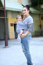 Load image into Gallery viewer, Liliana Baby Sling Wrap Babyback Carrier Ergonomic