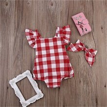 Load image into Gallery viewer, Vivian 2Pcs Bodysuit with Headband