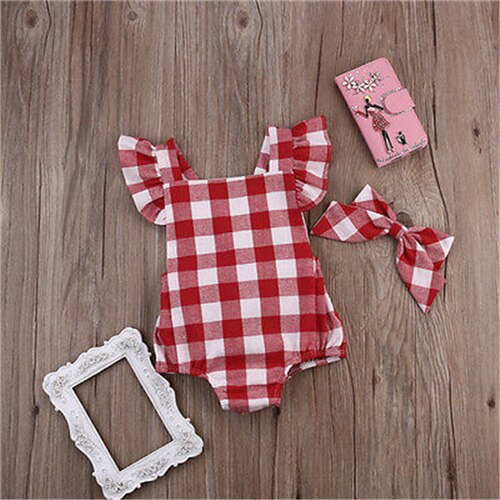 Vivian 2Pcs Bodysuit with Headband