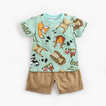 Load image into Gallery viewer, Caiden short-sleeves T-shirt + shorts Summer Outfit