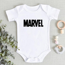 Load image into Gallery viewer, Marvel Print Newborn Romper