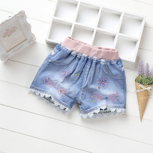 Mckenzie Girls Denim Shorts