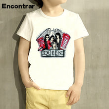 Load image into Gallery viewer, Kids Queen Rock Band Design Baby Boys/Girl TShirt