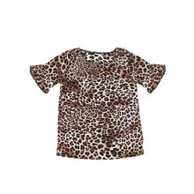 Load image into Gallery viewer, Aniyah Matching Mommy And Me Summer Leopard T-shirt