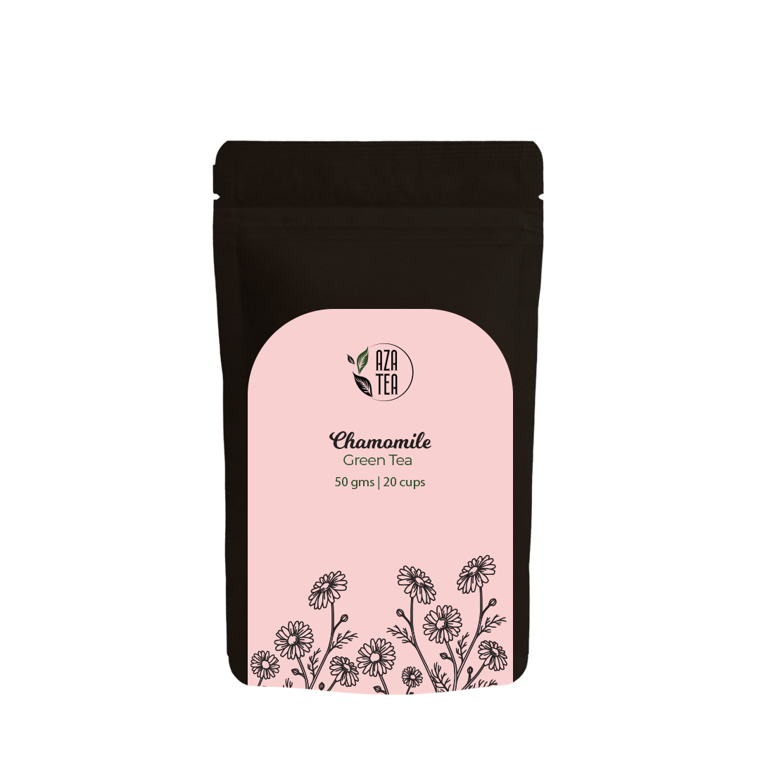 Chamomile 50gm pouch front