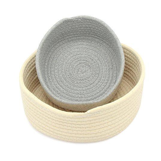 Montessori Cotton Rope Basket - The Montessori Room