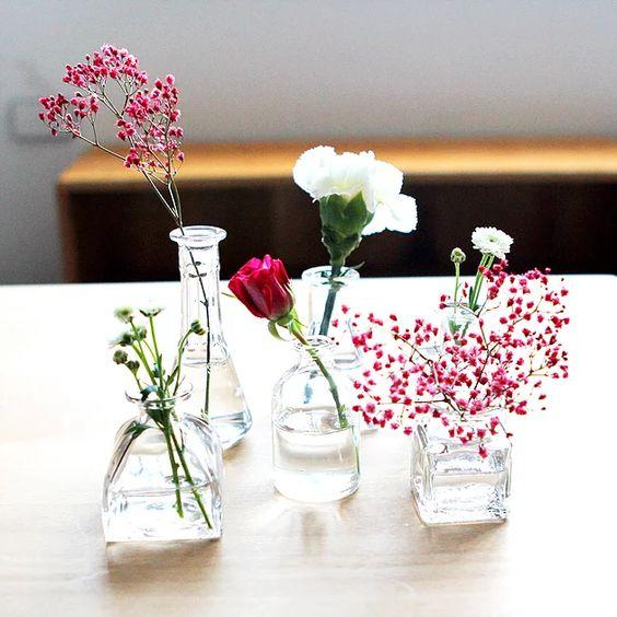 Mini vases - set of 3 - The Montessori Room