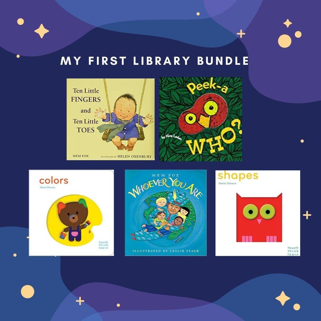 My First Library Bundle - The Montessori Room
